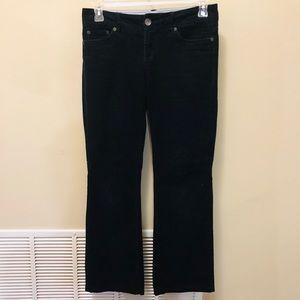 Tommy Hilfiger Black Corduroy Boot Cut Pants Sz. 4
